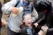 ABD'de tepki çeken görüntü! Polis, 7 yaşındaki çocuğa biber gazıyla müdahale etti