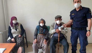 Para ve kömür yardımı bahanesiyle yaşlı çiftin 29 bin lirasını çalan hırsızlar yakalandı
