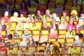 Villarreal, taraftarların fotoğraflarını karton halinde tribünlere yerleştirdi