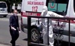Gaziantep'de korona hastası hastaneden kaçtı