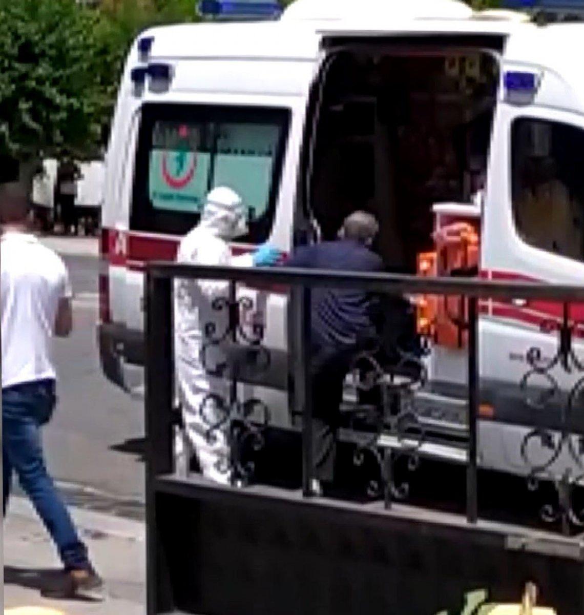 Gaziantep'de korona hastası hastaneden kaçtı #1