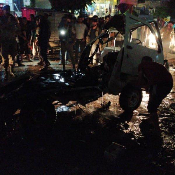 PKK yine Afrin'de saldırdı: 1 ölü 2 yaralı #1