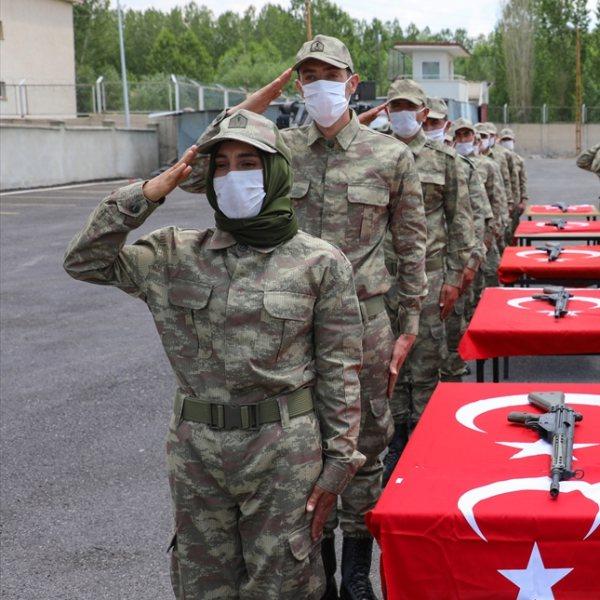 Van'da 38 korucu yeminin ardından göreve başladı #1