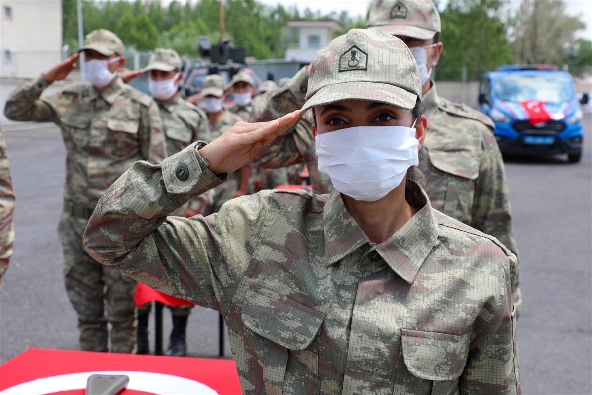 Van'da 38 korucu yeminin ardından göreve başladı #4