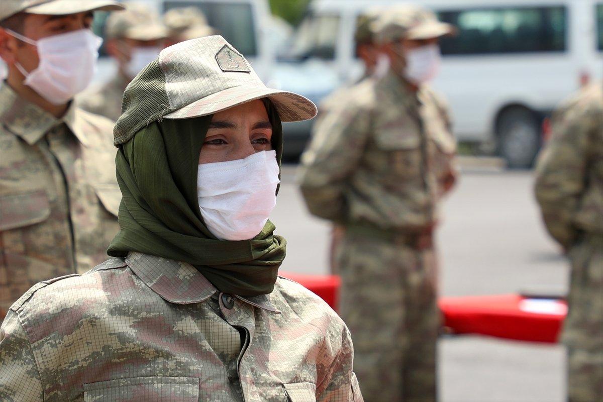 Van'da 38 korucu yeminin ardından göreve başladı #5