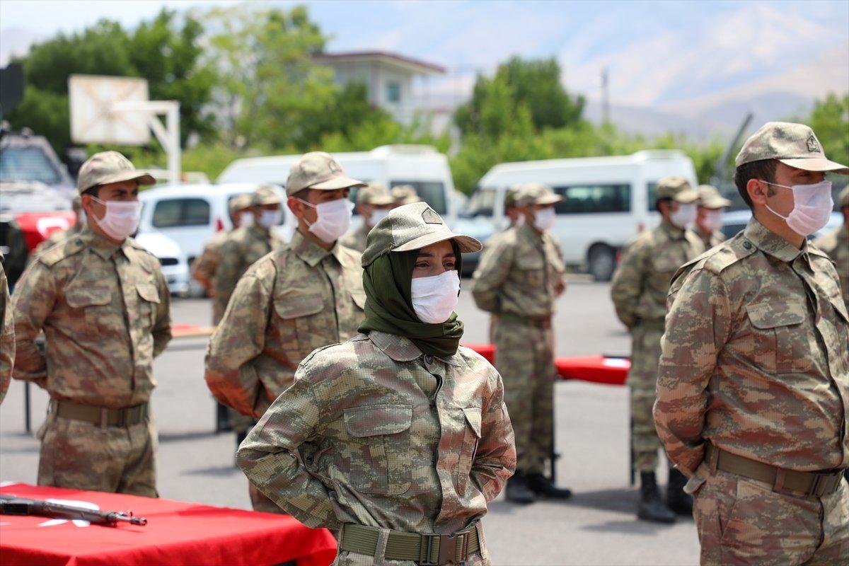 Van'da 38 korucu yeminin ardından göreve başladı #7